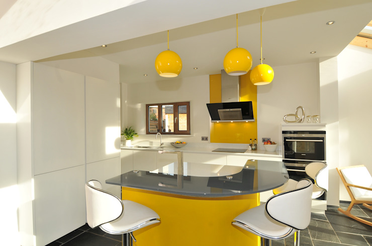 MR & MRS KNOWLES KITCHEN Cocinas modernas de Diane Berry Kitchens Moderno