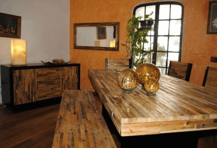 Comedor Reciclato de Segusino Muebles Condesa Moderno