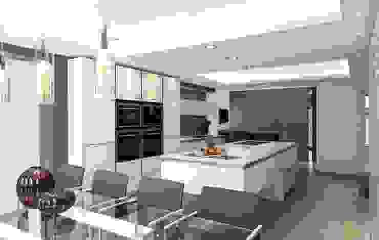 MR & MRS SYED'S KITCHEN Modern Kitchen by Diane Berry Kitchens Modern