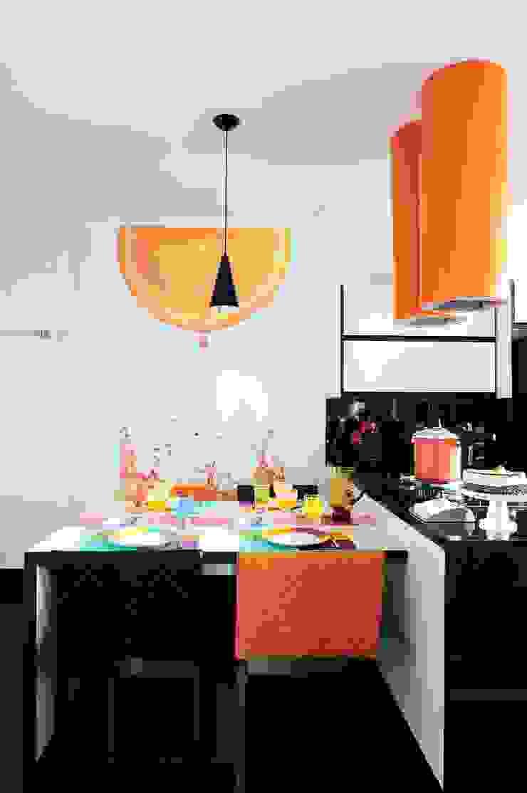 PROJETO IDENTIDADE BRASILEIRA - COZINHA por Adriana Scartaris: Design e Interiores em São Paulo Moderno