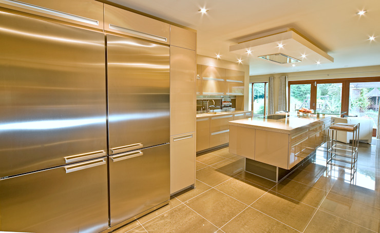 MR & MRS TAYLOR'S KITCHEN Modern Mutfak Diane Berry Kitchens Modern