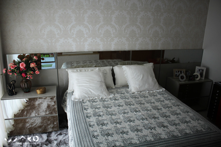 Classic style bedroom by WAKO Design de Interiores Classic