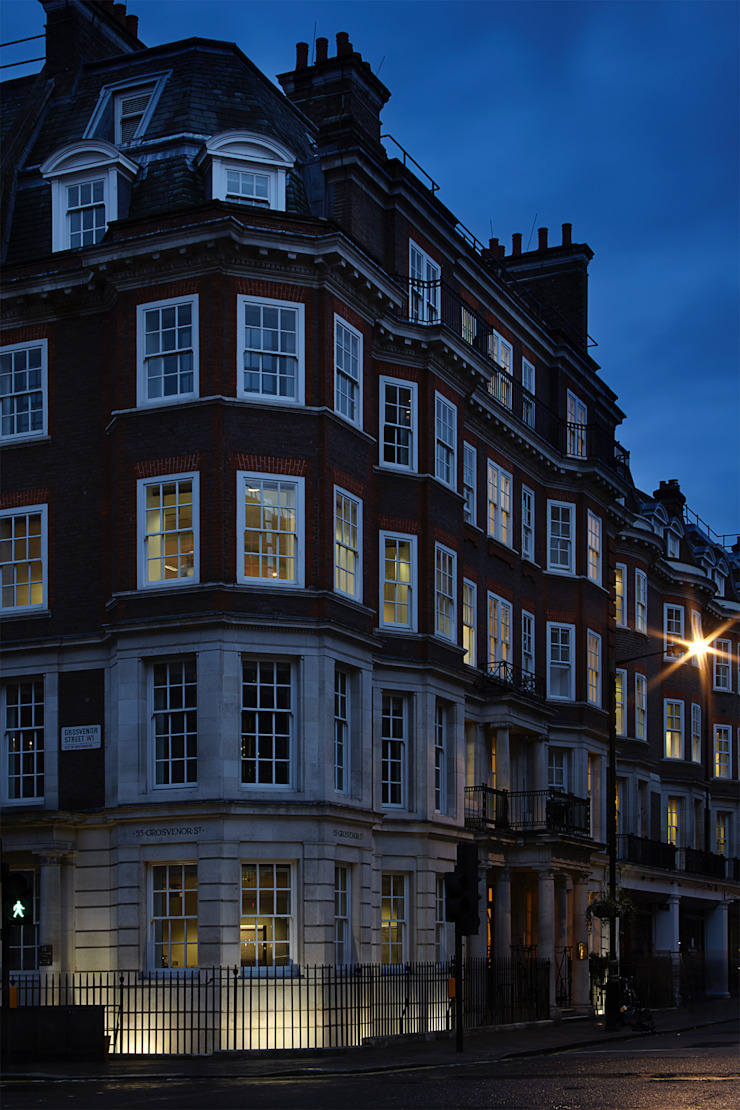 55 Grosvenor Street Modern office buildings by Patalab Architecture Modern