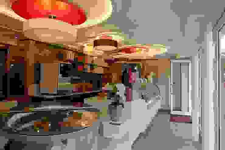 buonissimo Gelato Italiano Gastronomia in stile eclettico di Masi Interior Design di Masiero Matteo Eclettico