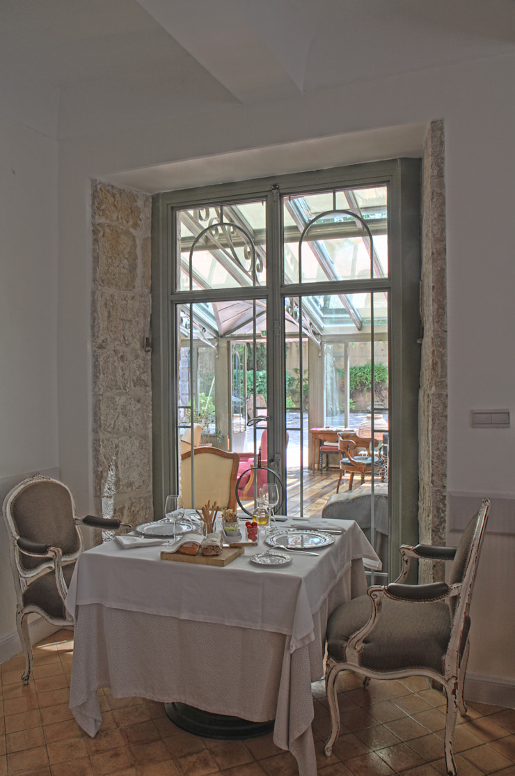 Photo d'architecture intérieur. Hôtels méditerranéens par Franck Guerin Méditerranéen