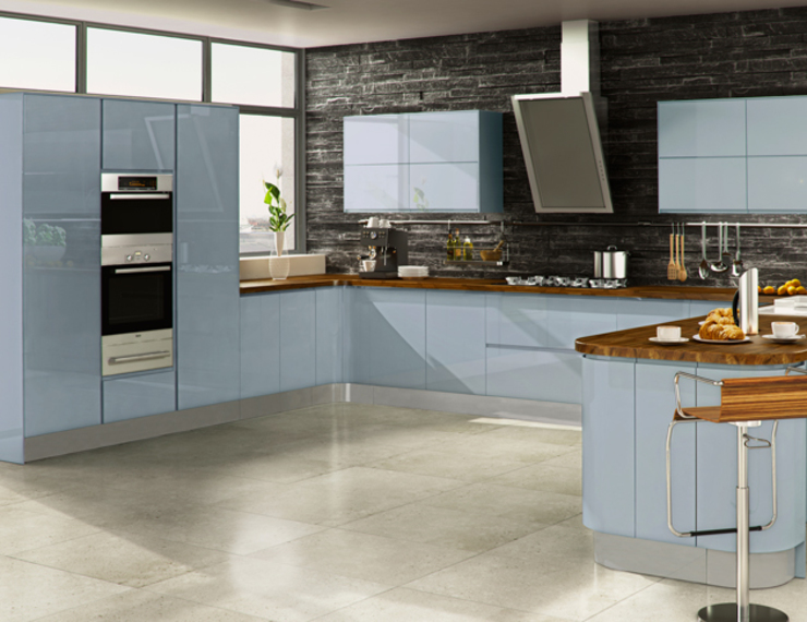 Handleless Kitchens Leicester di The Leicester Kitchen Co Moderno