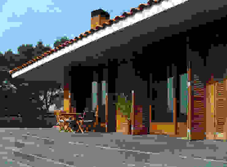 CASA XP Casas de estilo mediterráneo de c7arquitectes Mediterráneo