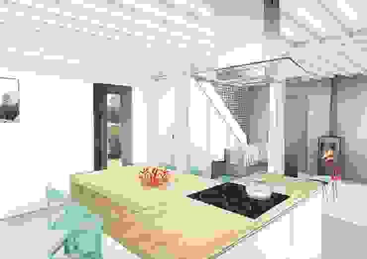 Moduler les volumes d'une maison normande Maisons modernes par Camille&Tifany Moderne