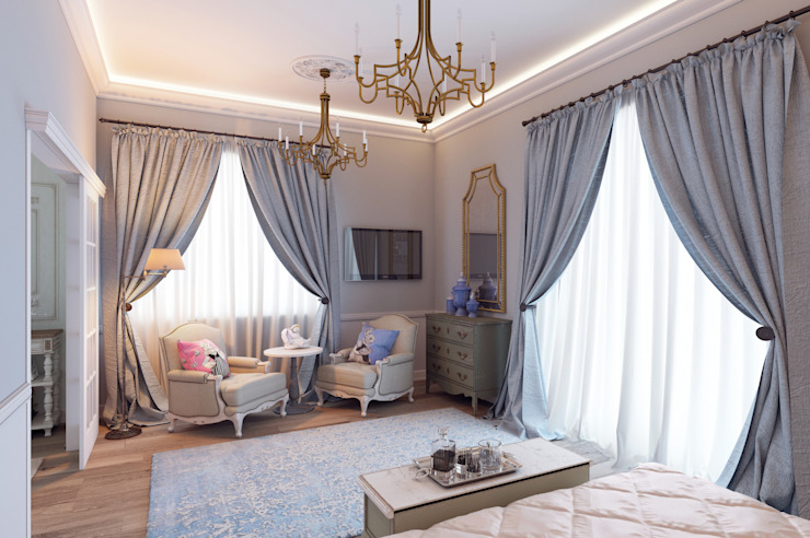 Мини-Гостиница Гостиницы в средиземноморском стиле от Котова Ольга Средиземноморский