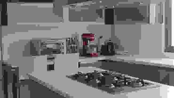 T801 05 Cocinas modernas de NIVEL TRES ARQUITECTURA Moderno