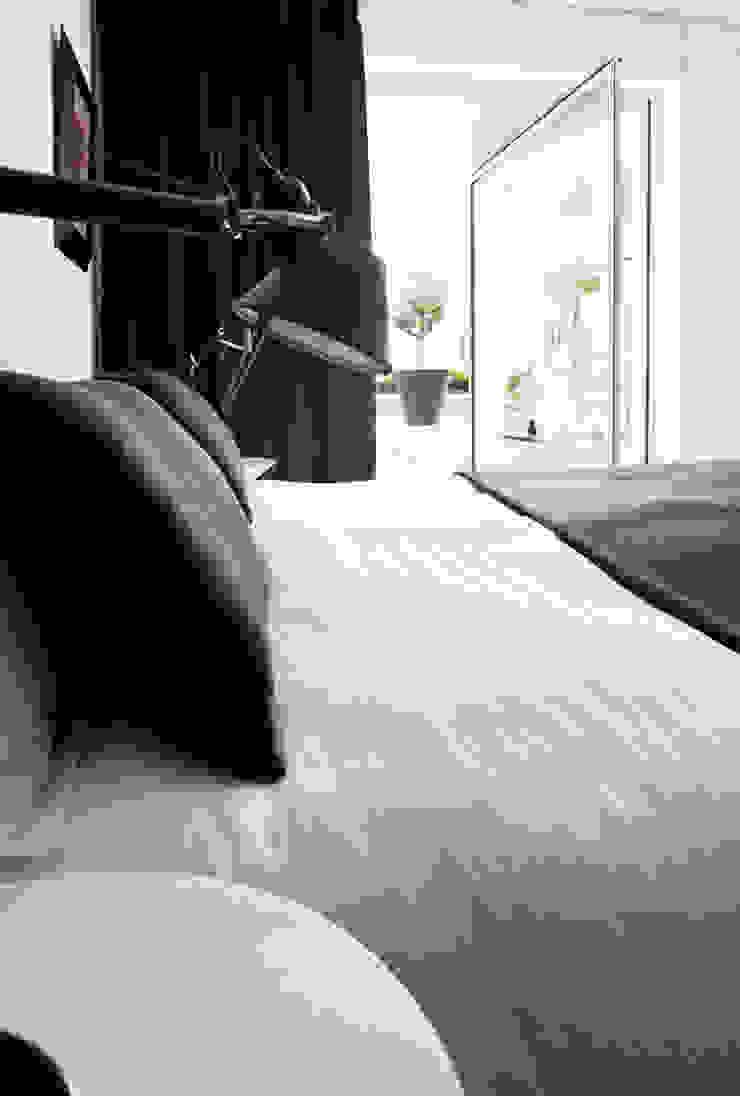 appartement B Dormitorios de estilo minimalista de atelier d'architecture Yvann Pluskwa Minimalista