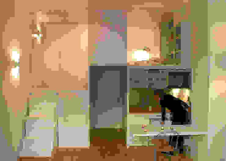 Cozinhas minimalistas por Beriot, Bernardini arquitectos Minimalista