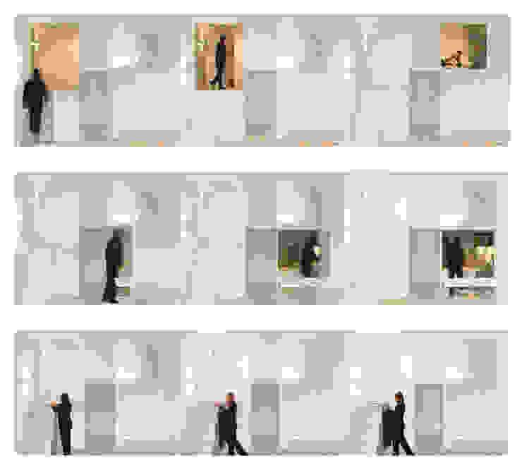 Loft DUQUE DE ALBA. Madrid Comedores minimalistas de Beriot, Bernardini arquitectos Minimalista