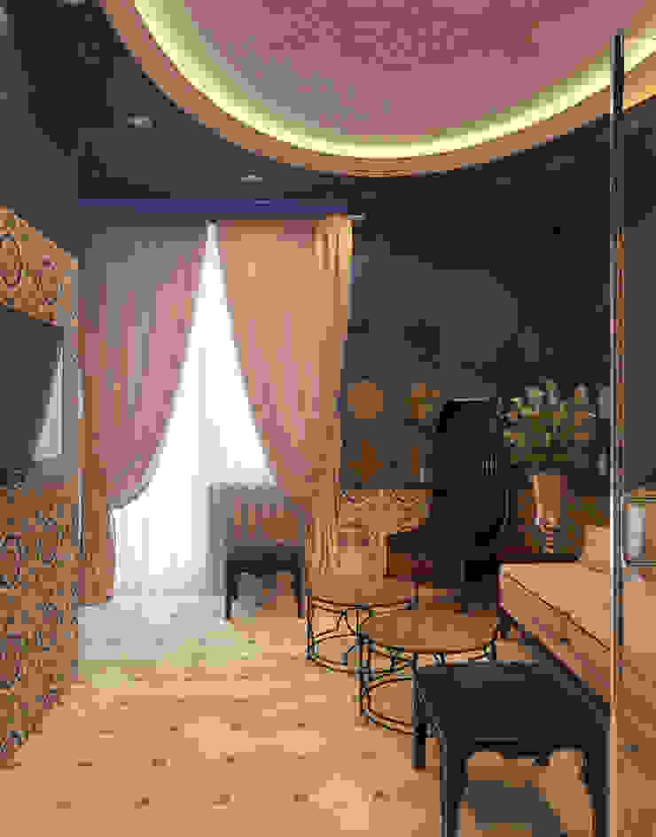 Мини-Гостиница Гостиницы в азиатском стиле от Котова Ольга Азиатский