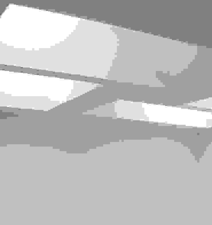 DETALLE HALL Oficinas y tiendas de estilo moderno de BM2C Arquitectos Moderno