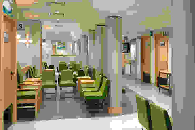 Outpatients Department Hospitals by Koubou Interiors
