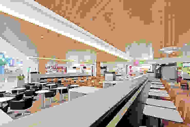 Rheinpark-Center Neuss Centros comerciales de estilo moderno de TBI Architecture & Engineering Moderno