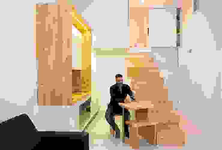 Loft ZURITA. Madrid Comedores de estilo minimalista de Beriot, Bernardini arquitectos Minimalista