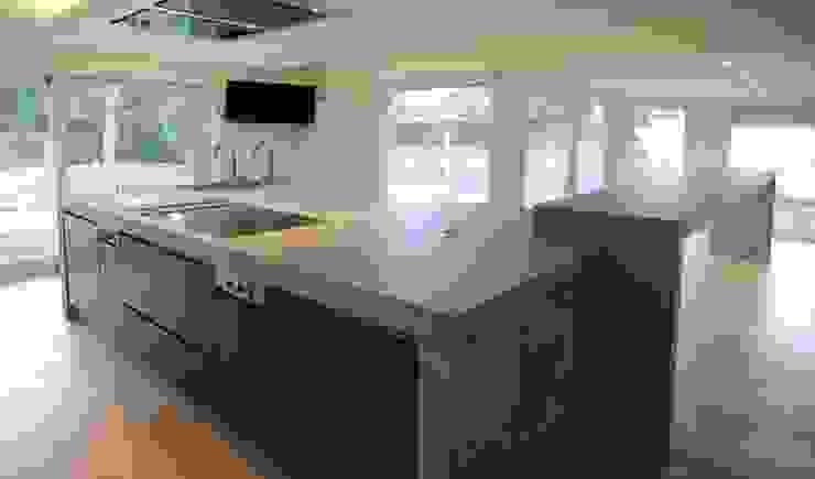 Betonarbeitsplatte Lucidezza in angesagtem Style : modern  von material raum form,Modern Beton