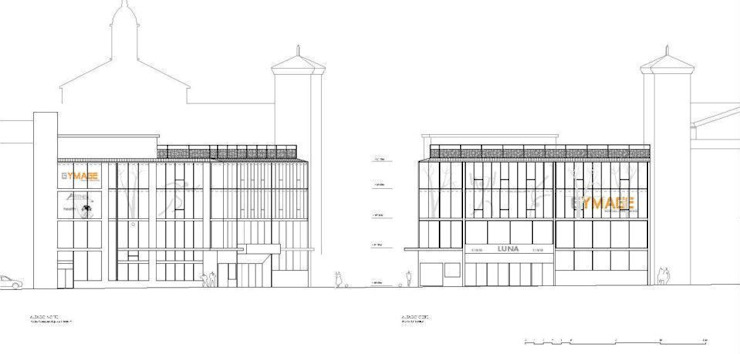GYMAGE de Carrillo arquitectos   Forma y Espacio Minimalista