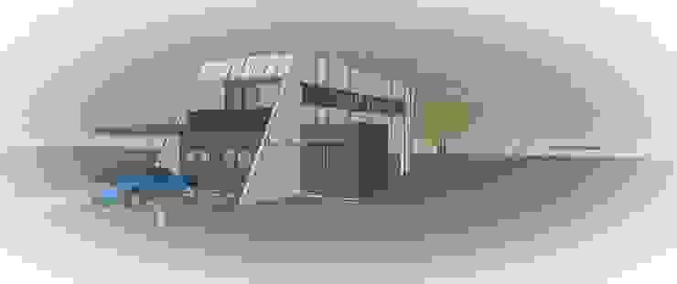 iHome Carrillo arquitectos | Forma y Espacio Casas de estilo moderno