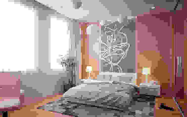 Chambre maitre par Amber Design Méditerranéen