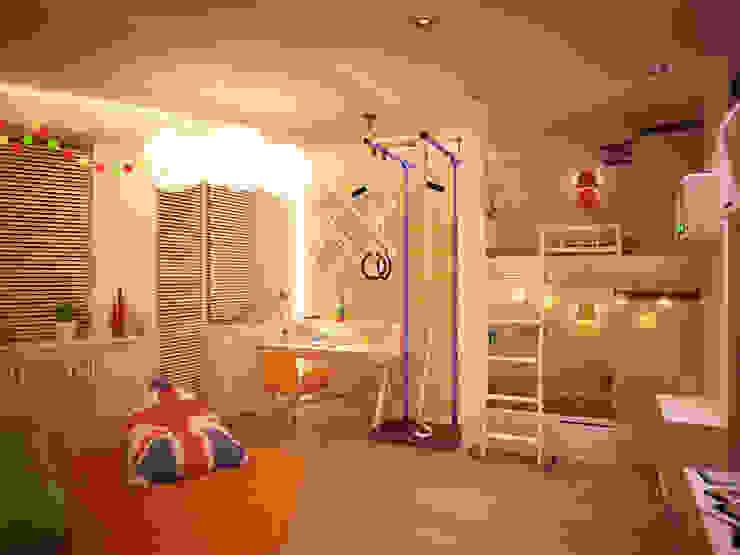 Chambre d'enfants 02 par Amber Design Méditerranéen