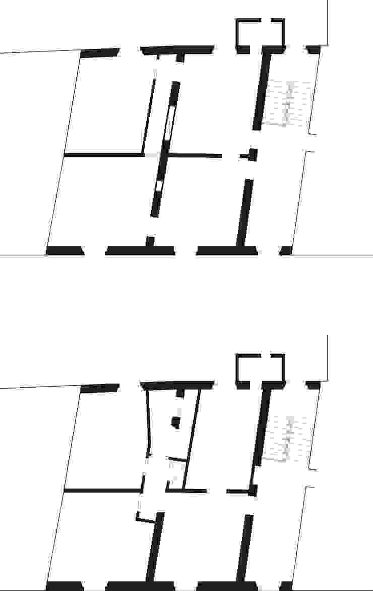 Casa B di A&M Studio Minimalista