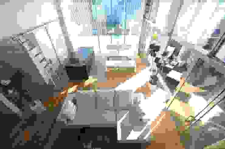 TERAJIMA ARCHITECTS/テラジマアーキテクツ Livings de estilo moderno