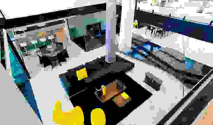 House Ber Casas modernas por Nico Van Der Meulen Architects Moderno