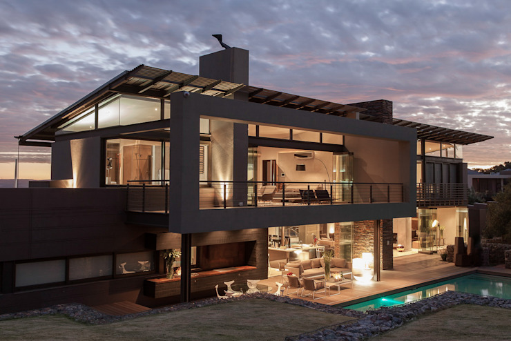 House Duk Nico Van Der Meulen Architects モダンな 家