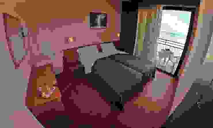 vista dalla camera fronte mare Hotel moderni di Paola Veronese Architetto Moderno