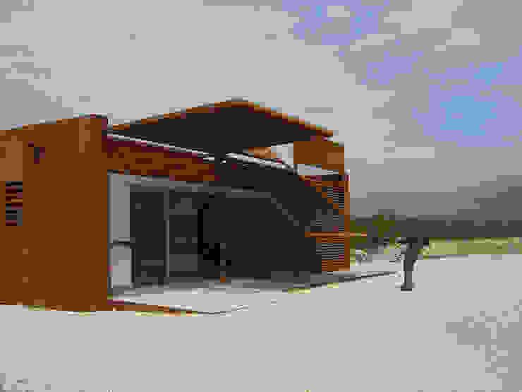 LOCAL SOCIAL EN CAMPO DE TIRO OLÍMPICO Espacios de Jofre Roca arquitectes