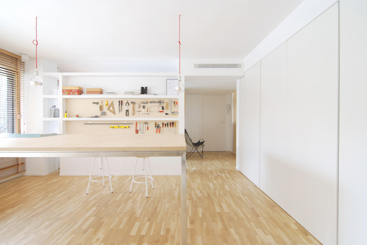 ARCHITECTURE STUDIO ENLARGMENT AN RENOVATION Jofre Roca arquitectes Ruangan