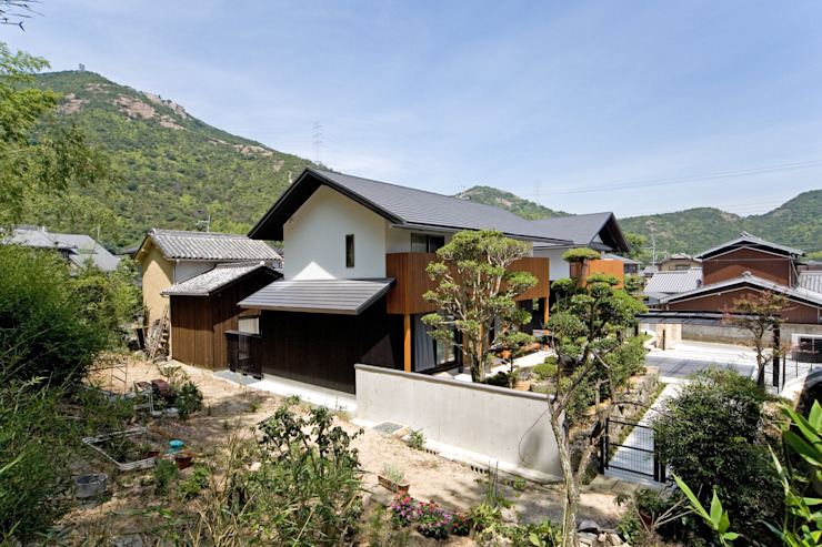 Casas de estilo  de 株式会社古田建築設計事務所, Moderno