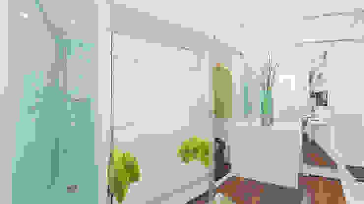 Mini Appartement de 6 m2 Maisons modernes par DB design Moderne