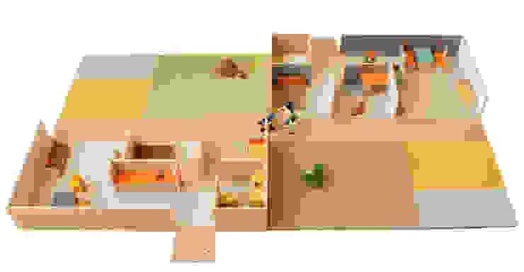 casa mini Dormitorios infantiles de PARRAMON + TAHULL arquitectes