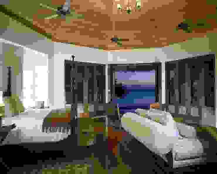 Master Suite. Casa Calandrias. BR Arquitectos Hoteles de estilo tropical de BR ARQUITECTOS Tropical
