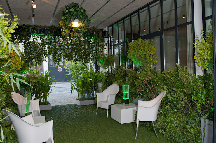 Restaurant Ephénère Géant Vert Locaux commerciaux & Magasin par DB design