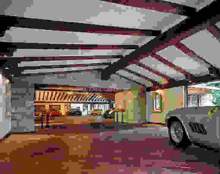 Garage/Rimessa in stile  di JR Arquitectos