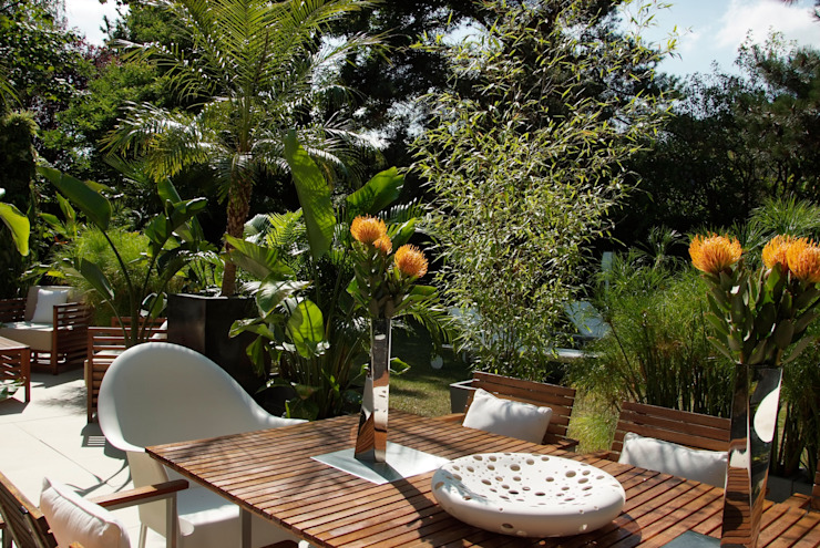 Jardines de estilo moderno de DB design Moderno