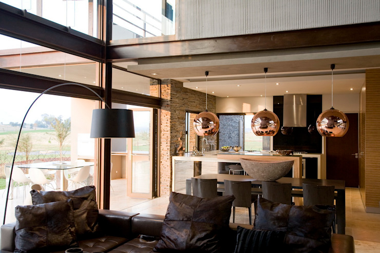 House Serengeti Modern living room by Nico Van Der Meulen Architects Modern