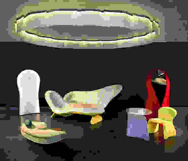 Parades Salon, Luminaire Ring par MATHILDE BRETILLOT CREATIONS Éclectique