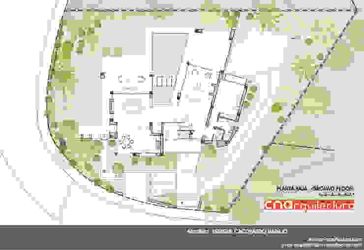 Diaphanous House -Planta Baja- Casas de estilo minimalista de CN ARQUITECTURA Minimalista
