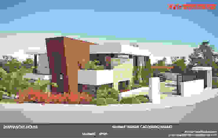 Diaphonous House Casas de estilo minimalista de CN ARQUITECTURA Minimalista