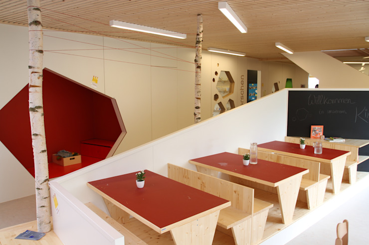 Kindertagesstätte Moderne Schulen von Holzer & Friedrich GbR Modern
