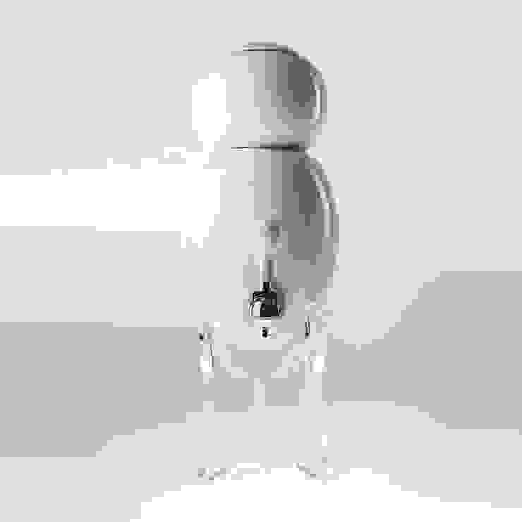 filtre a eau Aquaovo base verre acrylique par 1r design Moderne