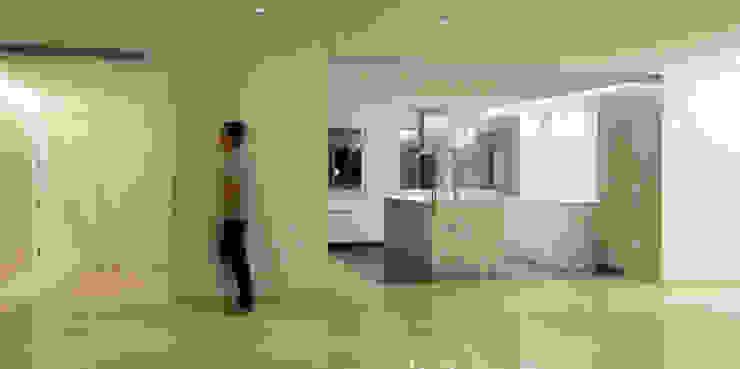 Cocina Cocinas de estilo minimalista de CM4 Arquitectos Minimalista