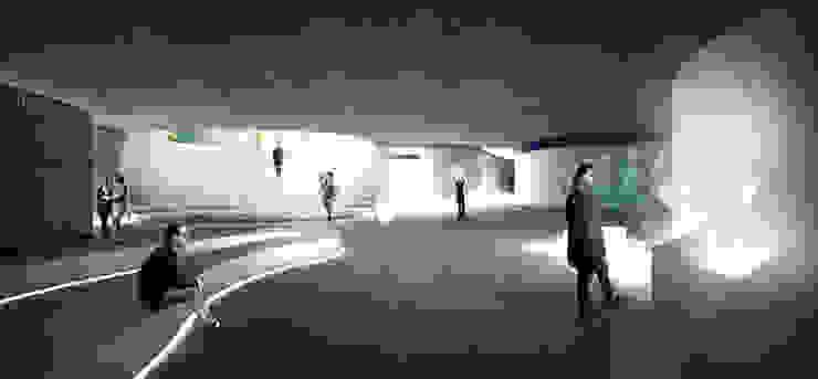 View from the exposition hall Musées originaux par NAS Architecture Éclectique
