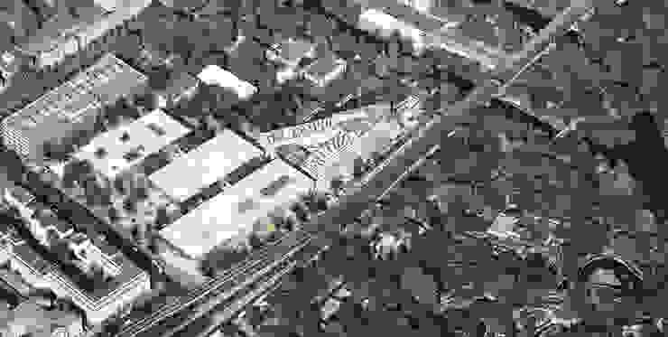 Bird view Musées originaux par NAS Architecture Éclectique